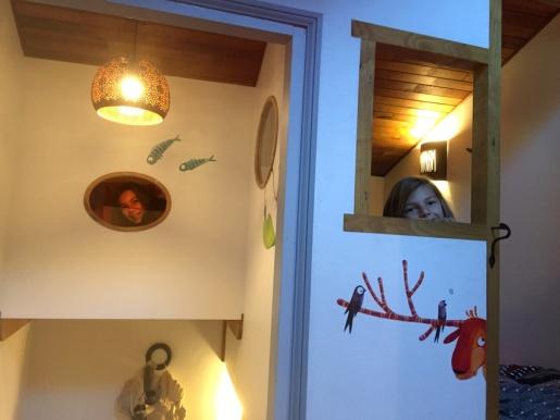 La cabane des enfants du gite Les Asphodèles - Vallée de la Vis