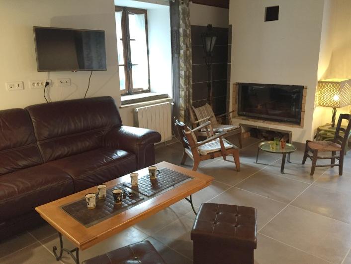 Salon et cheminée (insert)