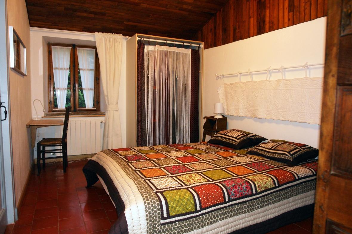 La chambre Cévennes, au gite Les Asphodèles - Vallée de la Vis