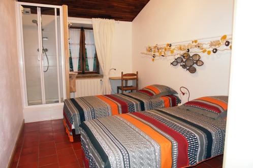 La chambre Navacelles, au gite Les Asphodèles - Vallée de la Vis
