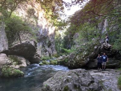 Haute Vallée de la Vis, près du gite Les Asphodèles - Vallée de la Vis
