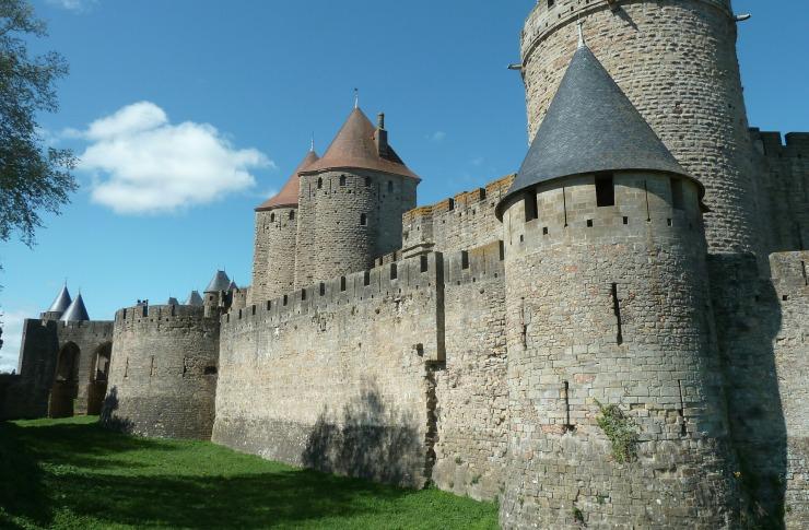 La cité de Carcassonne, près du site Les Asphodèles - Vallée de la Vis