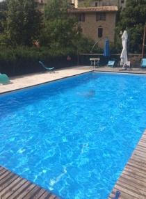 L'automne aux Asphodèles - Vallée de la Vis : piscine